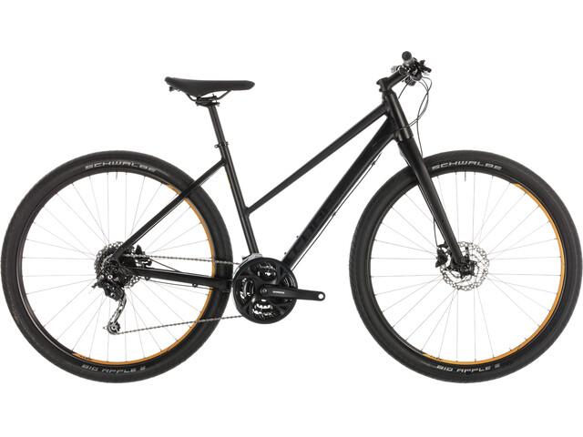 Cube Hyde Bicicletta da città Trapez nero
